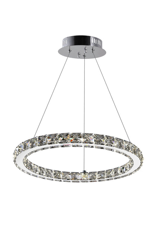 CWI Lighting LED Chandelier with Chrome finish | 5080P16ST-R