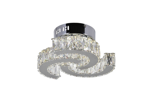 CWI Lighting LED Flush Mount with Chrome finish | 5614C11ST