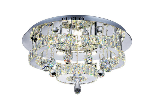 CWI Lighting LED Flush Mount with Chrome finish | 5644C22ST-R
