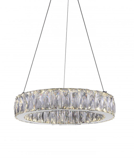 CWI Lighting LED Chandelier with Chrome finish | 5704P16-1-601-A
