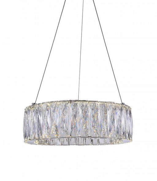CWI Lighting LED Chandelier with Chrome finish | 5704P16-1-601-B