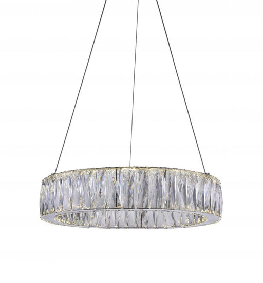 CWI Lighting LED Chandelier with Chrome finish | 5704P20-1-601