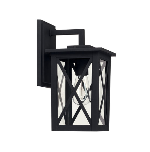 Capital 1 Light Outdoor Wall Lantern | 926611BK