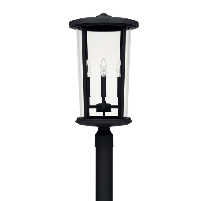 Capital 4 Light Outdoor Post Lantern | 926743BK
