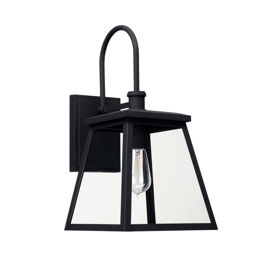 Capital 1 Light Outdoor Wall Lantern | 926812BK