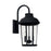 Capital 3 Light Outdoor Wall Lantern | 927032BK