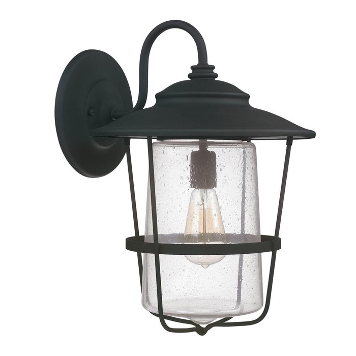 Capital 1 Light Outdoor Wall Lantern | 9603BK