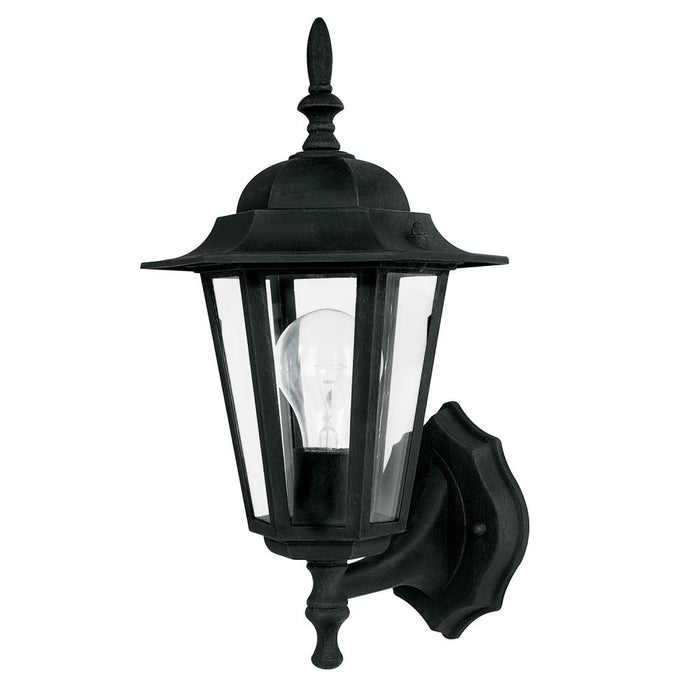 Capital 1 Light Outdoor Wall Lantern | 9825BK