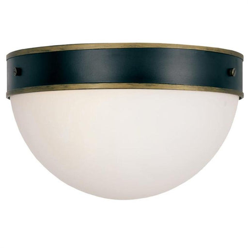 Crystorama Brian Patrick Flynn for Crystorama Capsule Outdoor 2 Light Ceiling Mount | CAP-8503-MK-TG