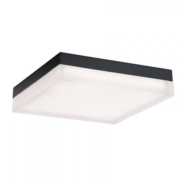 Modern Forms  Matrix LED Square Flush Mount | FM-2012-30-BK