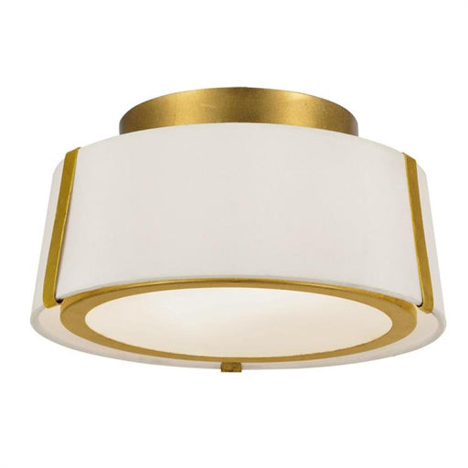 Crystorama Fulton 2 Light Gold Ceiling Mount | FUL-903-GA