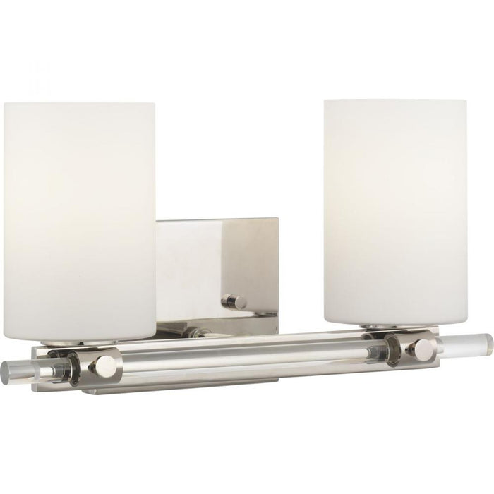 Progress Lisbon Collection Two-Light Bath & Vanity | P300198-104