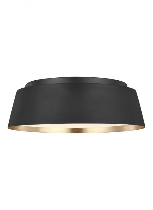 Generation Lighting - Designer Collection 3 - Light Flush Mount | EF1003MBK