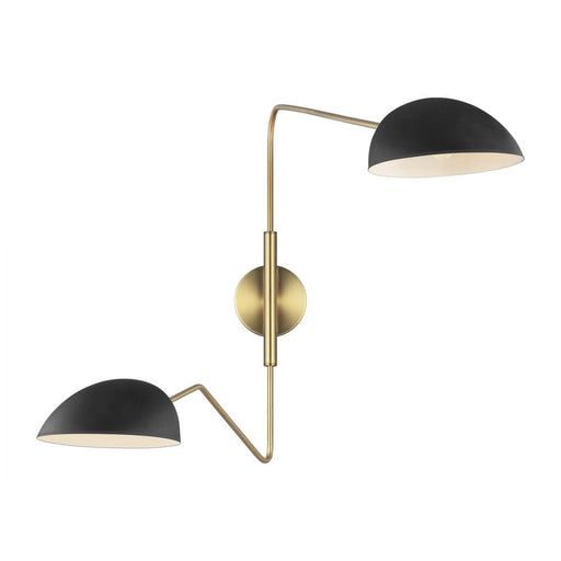 Generation Lighting - Designer Collection 2 - Light Wall Sconce | EW1072MBK