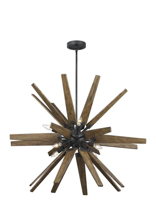 Generation Lighting - Feiss 8-Light Chandelier | F3258/8DWZ/WOW