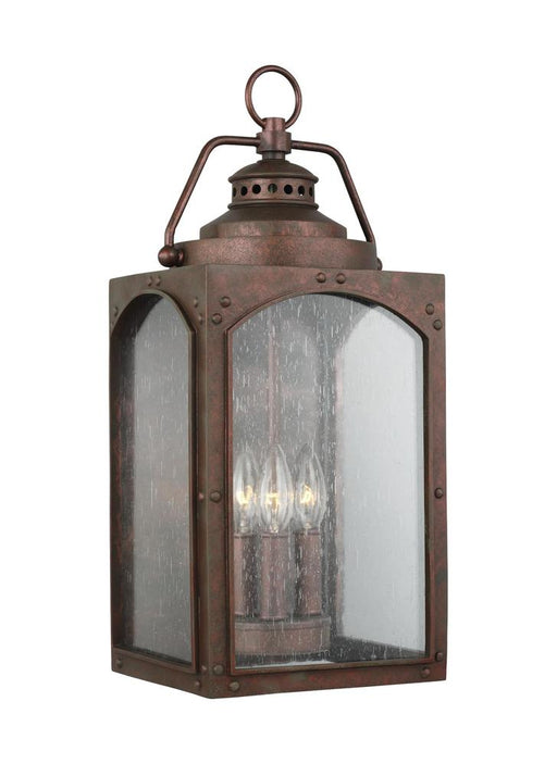 Generation Lighting - Feiss 3 - Light Wall Lantern | OL14372CO