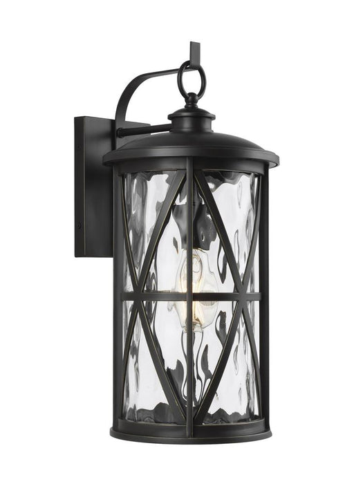 Generation Lighting - Feiss 1 - Light Outdoor Wall Lantern | OL15202ANBZ