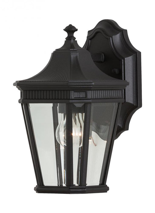 Generation Lighting - Feiss 1 - Light Wall Lantern | OL5400BK