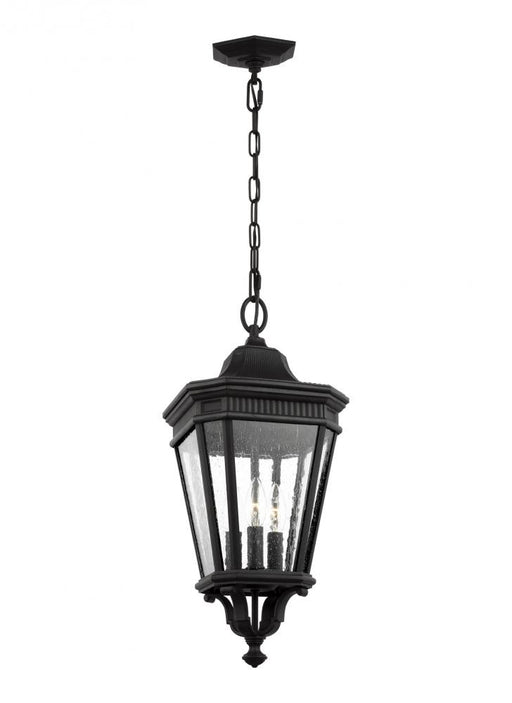 Generation Lighting - Feiss 3 - Light Hanging Lantern | OL5431BK
