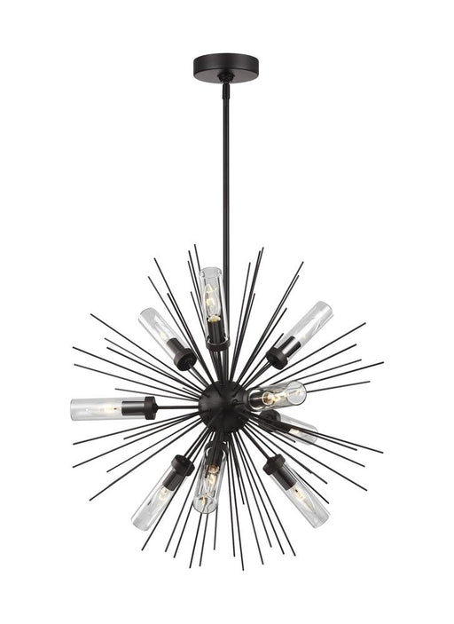 Generation Lighting - Feiss 9 - Light Outdoor Chandelier | OLF3295/9ORB