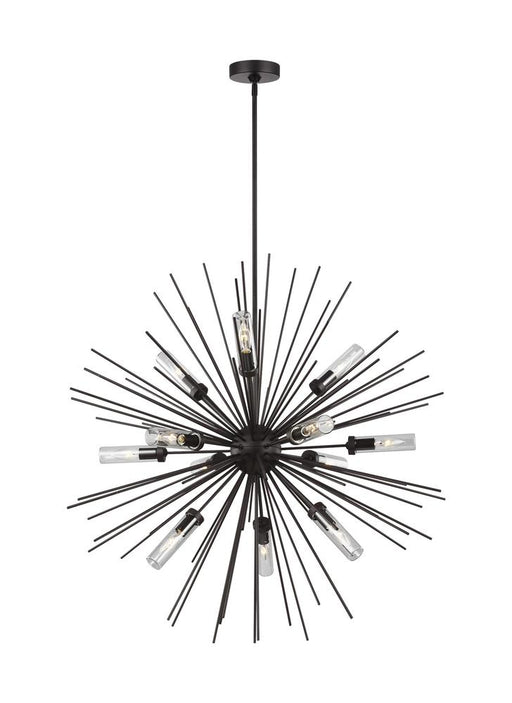 Generation Lighting - Feiss 12 - Light Outdoor Chandelier | OLF3296/12ORB