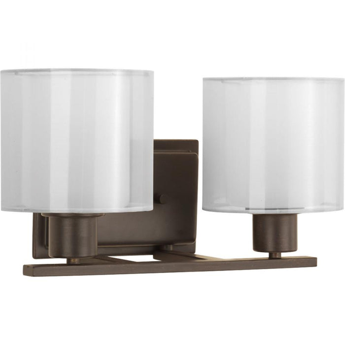 Progress Invite Collection Two-Light Bath & Vanity | P2078-20