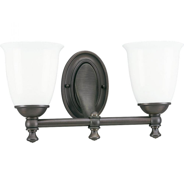 Progress Victorian Collection Two-Light Bath & Vanity | P3028-74