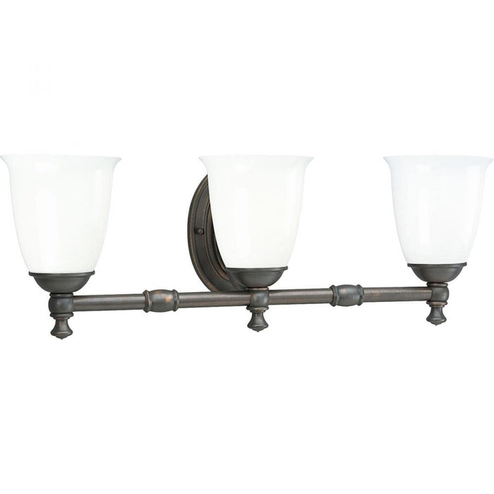 Progress Victorian Collection Three-Light Bath & Vanity | P3029-74