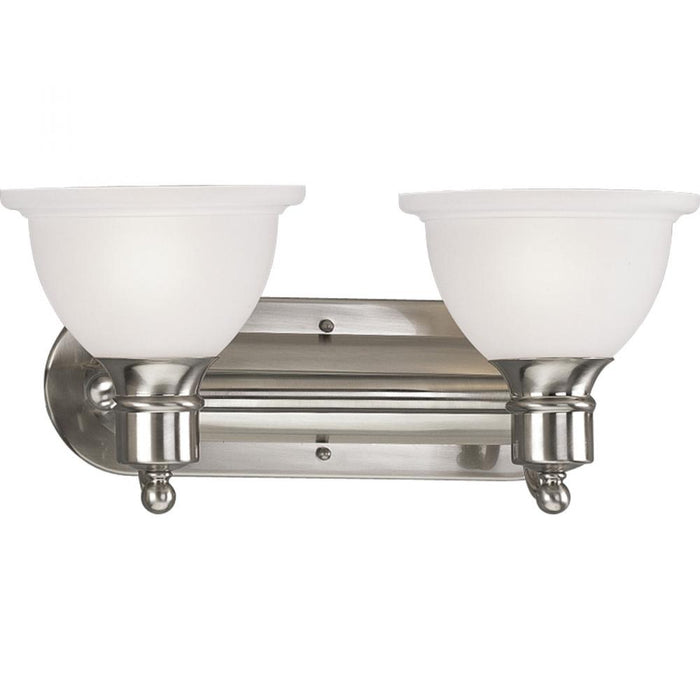 Progress Madison Collection Two-Light Bath & Vanity | P3162-09