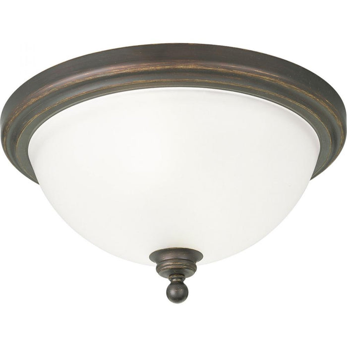 "Progress Madison Collection Two-Light 15-3/4"" Close-to-Ceiling 