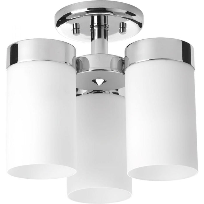 "Progress Elevate Collection Three-Light 11-3/4"" Flush Mount 