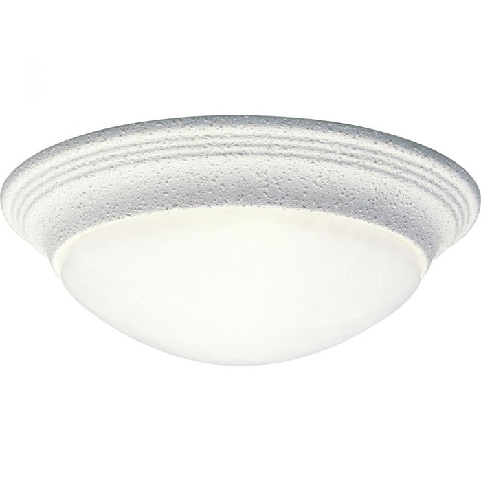 "Progress One-Light Alabaster Glass 11-1/2"" Close-to-Ceiling 