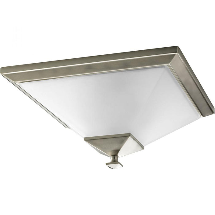 "Progress North Park Collection Two-Light 15"" Close-to-Ceiling 