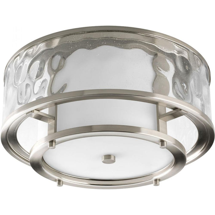 "Progress Bay Court Collection Two-Light 15"" Flush Mount 
