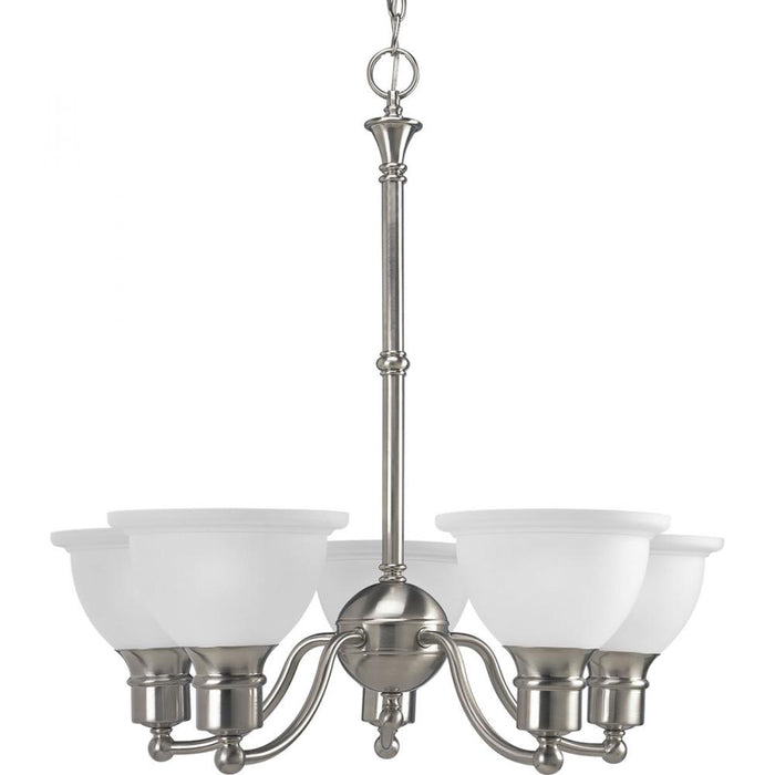 Progress Madison Collection Five-Light Chandelier | P4281-09