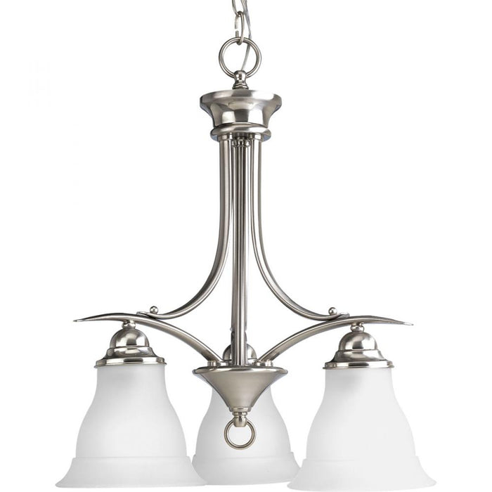 Progress Trinity Collection Three-Light Chandelier | P4324-09