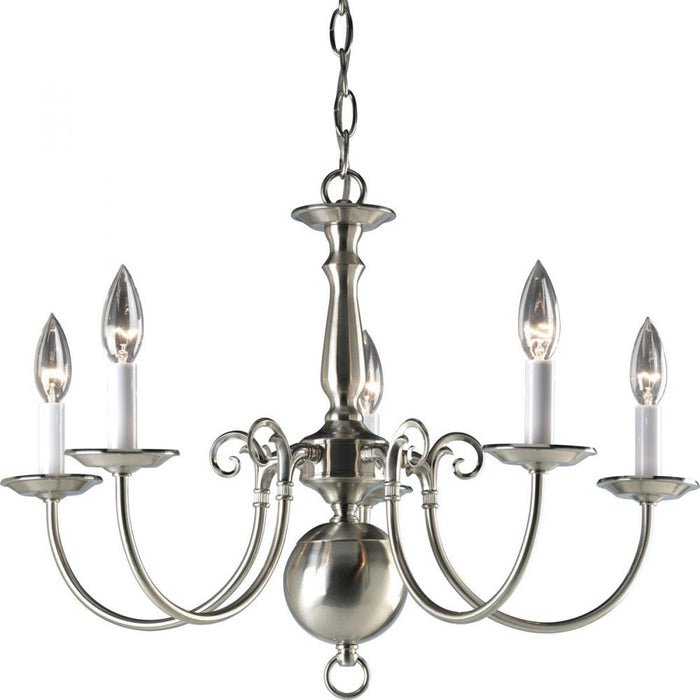 Progress Americana Collection Five-Light Chandelier | P4346-09