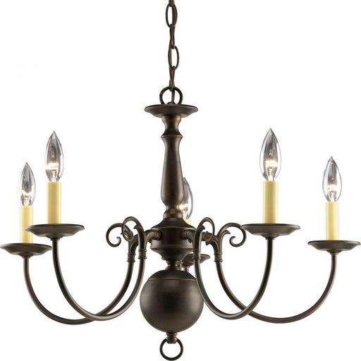 Progress Americana Collection Five-Light Chandelier | P4346-20