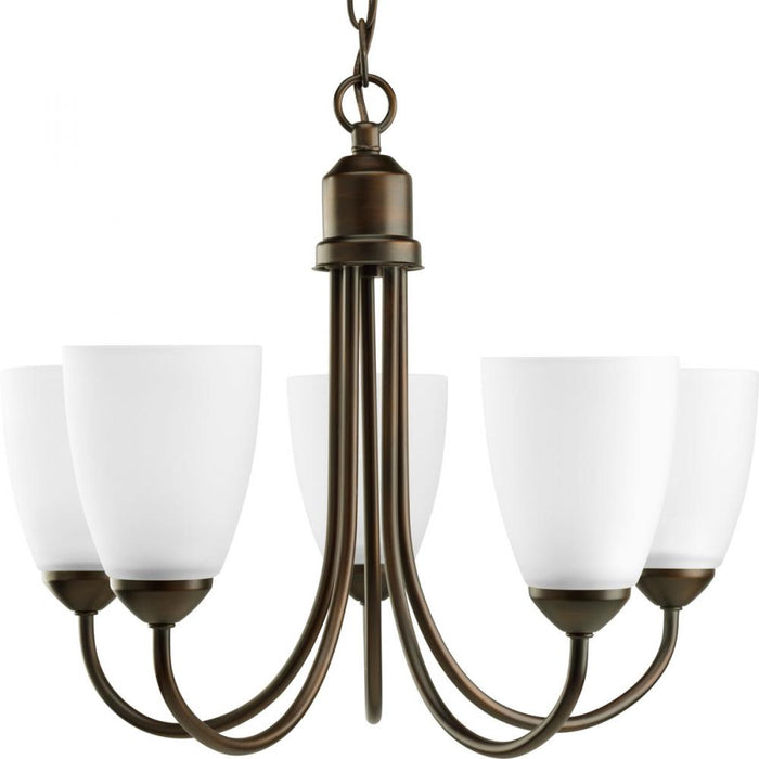 Progress Gather Collection Five-Light Chandelier | P4441-20