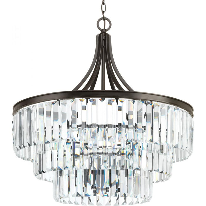 Progress Glimmer Collection Six-light pendant | P5346-20
