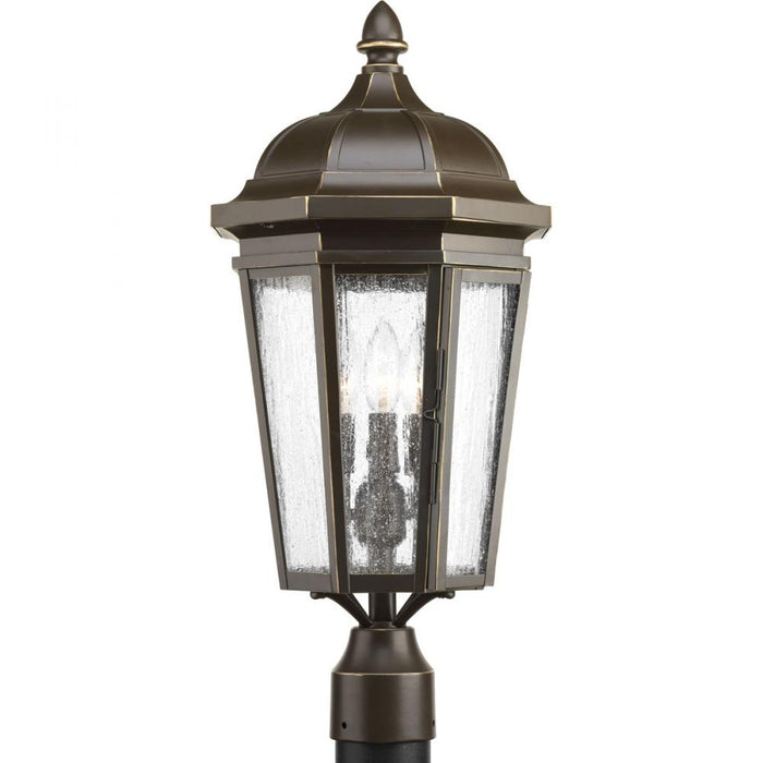 Progress Verdae Collection Three-Light Post Lantern | P540002-020