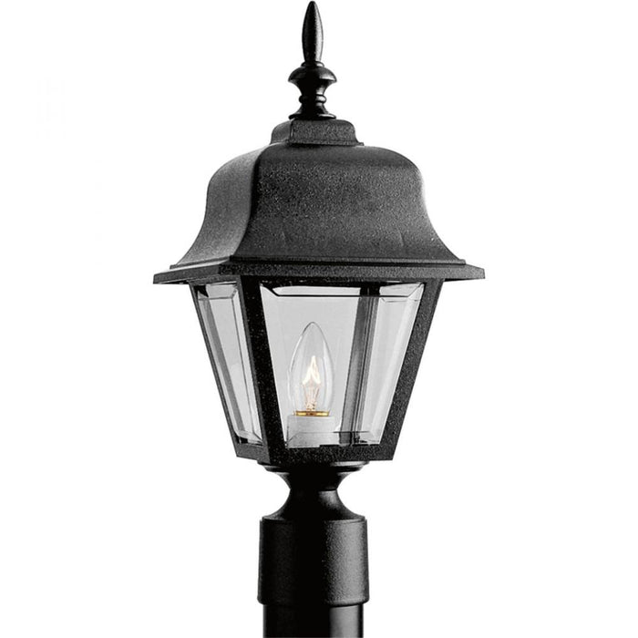 Progress Non-Metallic Incandescent One-Light Post Lantern | P5456-31