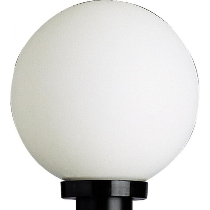 Progress Acrylic Globe One-Light Post Lantern | P5478-60