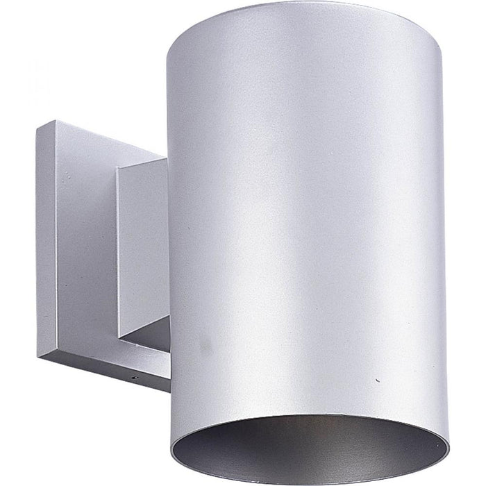 Progress Metallic Gray Outdoor Wall Cylinder | P5674-82