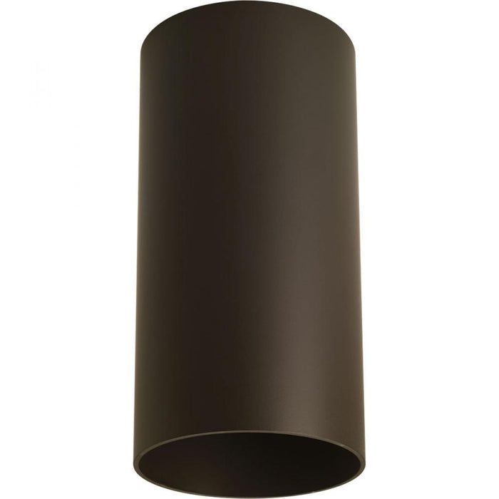 Progress Bronze LED Outdoor Flush Mount Cylinder | P5741-20/30K