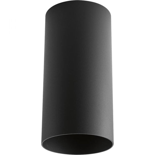 Progress Black Outdoor Ceiling Mount Cylinder | P5741-31