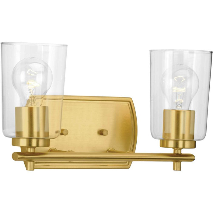 Progress Adley Collection Two-Light Bath & Vanity | P300155-012