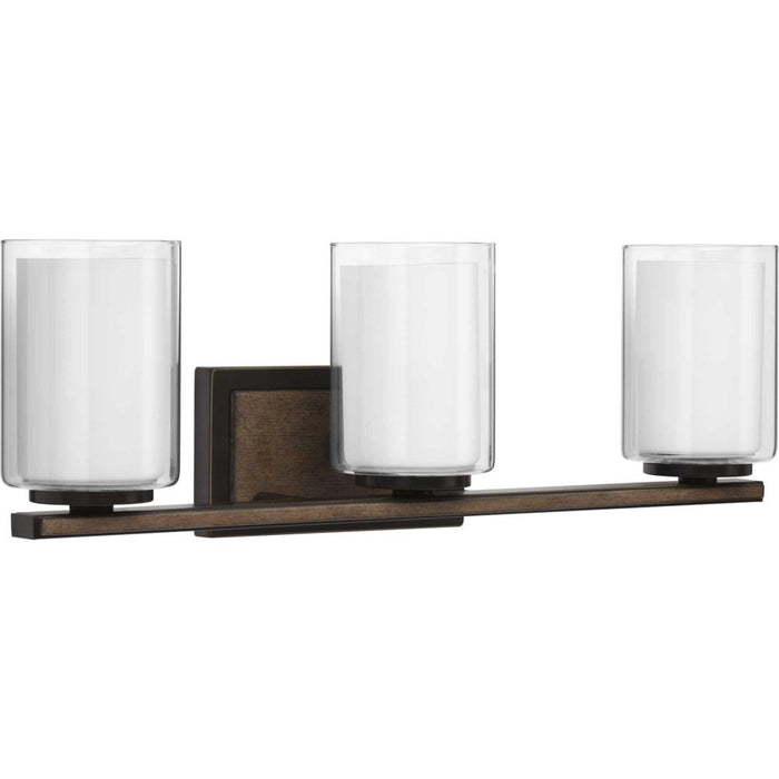 Progress Mast Collection Three-Light Bath & Vanity | P300217-020