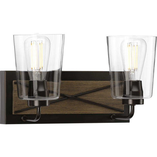 Progress Briarwood Collection Two-Light Bath & Vanity | P300230-020