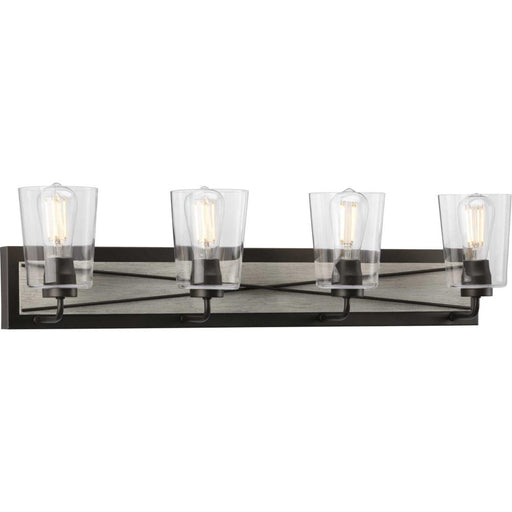 Progress Briarwood Collection Four-Light Bath & Vanity | P300232-143